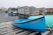 Fishing boats in famous fishing village<br /> <br /> Peggy's Cove<br /> Nova Scotia<br /> Canada
