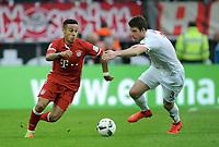 v.l. Thiago Alcantara, Dominique Heintz (Koeln)<br /> Koeln, 04.03.2017, Fussball, Bundesliga, 1. FC Köln - FC Bayern München 0:3<br /> Norway only