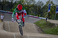 #421 (RICCARDI Romain) ITA at the 2016 UCI BMX Supercross World Cup in Papendal, The Netherlands.
