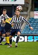 Byron Webster of Millwall during the FA Cup match at The Den, London<br /> Picture by Liam McAvoy/Focus Images Ltd 07413 543156<br /> 29/01/2017