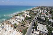 Herzliya, Israel aerial view