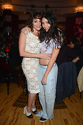 Left to right, FRANCES RUFFELLE and her daughter ELIZA DOOLITTLE  at a private performance by Frances Ruffelle entitled 'Paris Original' at The Crazy Coqs, Brasserie Zedel, 20 Sherwood Street, London on 8th October 2013.