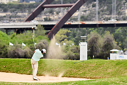 March 24, 2018 - Austin, TX, U.S. - AUSTIN, TX - MARCH 24: Kevin Kisner hits from a fairway bunker during the Round of 16 for the WGC-Dell Technologies Match Play on March 24, 2018 at Austin Country Club in Austin, TX. (Photo by Daniel Dunn/Icon Sportswire) (Credit Image: © Daniel Dunn/Icon SMI via ZUMA Press)