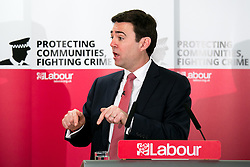 © Licensed to London News Pictures. 25/2/2016, Birmingham, UK. ANDY BURNHAM launching the Labour campaign for Police and Crime Commissioner Elections. Photo credit : Dave Warren/LNP