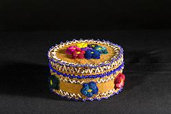 Adaka Cultural Festival 2016, Whitehorse, Yukon, Canada, Yukon First Nation Culture and Tourism Association, Kwanlin Dun Cultural Centre, Christine Sam, beadwork, tufting, quill