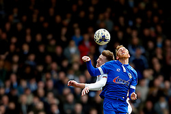 Paul Green of Oldham Athletic challenges Josh Vela of Bolton Wanderers - Mandatory by-line: Matt McNulty/JMP - 15/04/2017 - FOOTBALL - Boundary Park - Oldham, England - Oldham Athletic v Bolton Wanderers - Sky Bet League 1