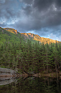 Deep in Carter Notch, White Mountains National Forest