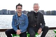 Presentatie van de nieuwe grote serie van LINDA.tv. De Vlucht .<br /> <br /> Op de foto:  Sinan Eroglu  en  Eric Corton