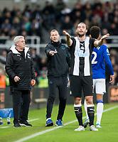Football - 2019 / 2020 Premier League - Newcastle United vs. Everton<br /> <br /> Everton assistant manager Duncan Ferguson, at St James' Park Stadium.<br /> <br /> COLORSPORT/BRUCE WHITE
