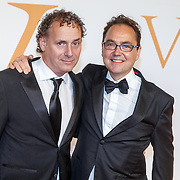 NLD/Katwijk/20151030 - 5 Jarig jubileumvoostelling musical Soldaat van Oranje, Fred Boot en Robin de Levita