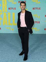 Matt Ramos arrives at the Los Angeles Premiere Of Netflix's 'The Harder They Fall' held at the Shrine Auditorium and Expo Hall on October 13, 2021 in Los Angeles, California, United States. Photo by Xavier Collin/Image Press Agency/ABACAPRESS.COM