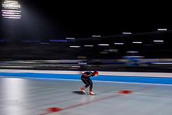 09-03-2018 NED: WK Schaatsen Allround, Amsterdam<br /> Jiachen Hao CHN