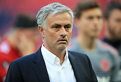 Manchester United manager Jose Mourinho after the game