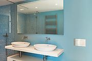 Interior, modern apartment, comfortable bathroom