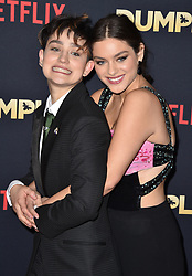 Odeya Rush and Bex Taylor-Klaus attend the premiere of Netflix's 'Dumplin'' at TCL Chinese 6 Theatres on December 6, 2018 in Los Angeles, CA, USA. Photo by Lionel Hahn/ABACAPRESS.COM