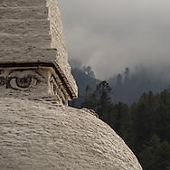 Eyes on Chendebji Chorten, Trashigang-Semtokha Hwy, Bhutan