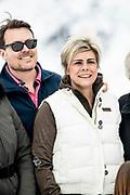 Fotosessie met de koninklijke familie in Lech /// Photoshoot with the Dutch royal family in Lech .<br /> <br /> Prins Constantijn en Prinses Laurentien