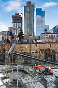 Buildings in Denny Triangle, Seattle, Washington  12/30/18