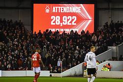 January 19, 2019 - Nottingham, England, United Kingdom - Attendance 28,922 during the Sky Bet Championship match between Nottingham Forest and Bristol City at the City Ground, Nottingham on Saturday 19th January 2019. (Credit Image: © Mark Fletcher/NurPhoto via ZUMA Press)