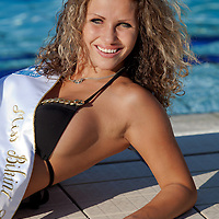 Livia Peter placed second during the Miss Bikini Hungary beauty contest held in Budapest, Hungary on August 29, 2010. ATTILA VOLGYI