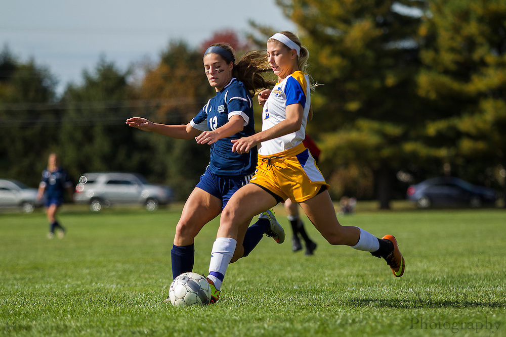 2015 NJCAA Division III Women's Soccer Region XIX playoffs - Camden County College at Rowan College of Gloucester County in Sewell, NJ on Saturday October 24, 2015. (photo / Mat Boyle)