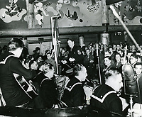 1943 Rudy Valee at the Hollywood Canteen
