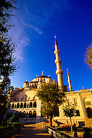 The Blue Mosque (Sultan Ahmet Cami), Istanbul, Turkey