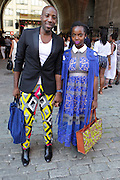 13 September-Brooklyn, New York: (L-R) Recording Artist Abiah and Actress Maameyea Boafa attend the Essence Street Style Block Party held at The Dumbo Archway Under the Manhattan Bridge on September 13, 2015 in the DUMBO section of Brooklyn, New York.   (Photo by Terrence Jennings/terrencejennings.com)