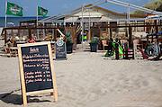 Kijkduin, beach restaurant, Scheveningen, Holland