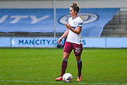 West Ham United Women defender Laura Vetterlein (26) in action during the FA Women's Super League match between Manchester City Women and West Ham United Women at the Sport City Academy Stadium, Manchester, United Kingdom on 17 November 2019.