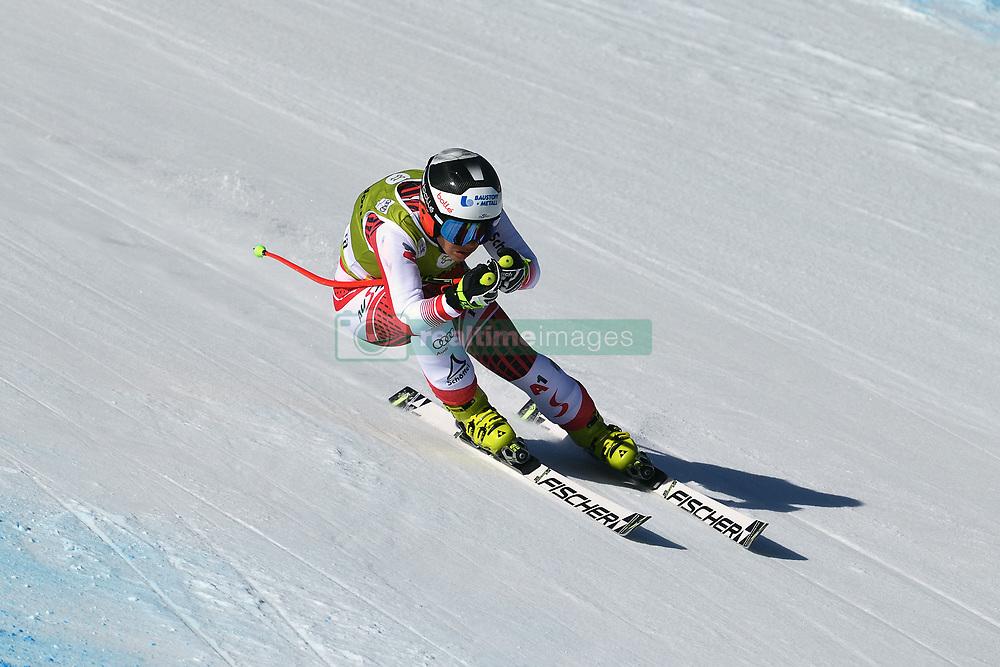 March 14, 2019 - ANDORRA - Nicole Schmidhofer (AUT) during Ladies Super Giant of Audi FIS Ski World Cup Finals 18/19 on March 14, 2019 in Grandvalira Soldeu/El Tarter, Andorra. (Credit Image: © AFP7 via ZUMA Wire)