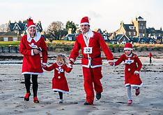 Santa Run, North Berwick, 15 December 2019