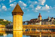 Schweiz Stadt, Orte, Sehenswürdigkeiten