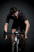 Alberto Contador, photographed for KOO sunglasses in Madrid.