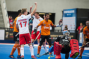Barry Middleton. England v Malaysia - 3rd/4th Playoff - Hockey World League Semi Final, Lee Valley Hockey and Tennis Centre, London, United Kingdom on 25 June 2017. Photo: Simon Parker