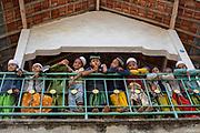Boys on break from school in Madura.