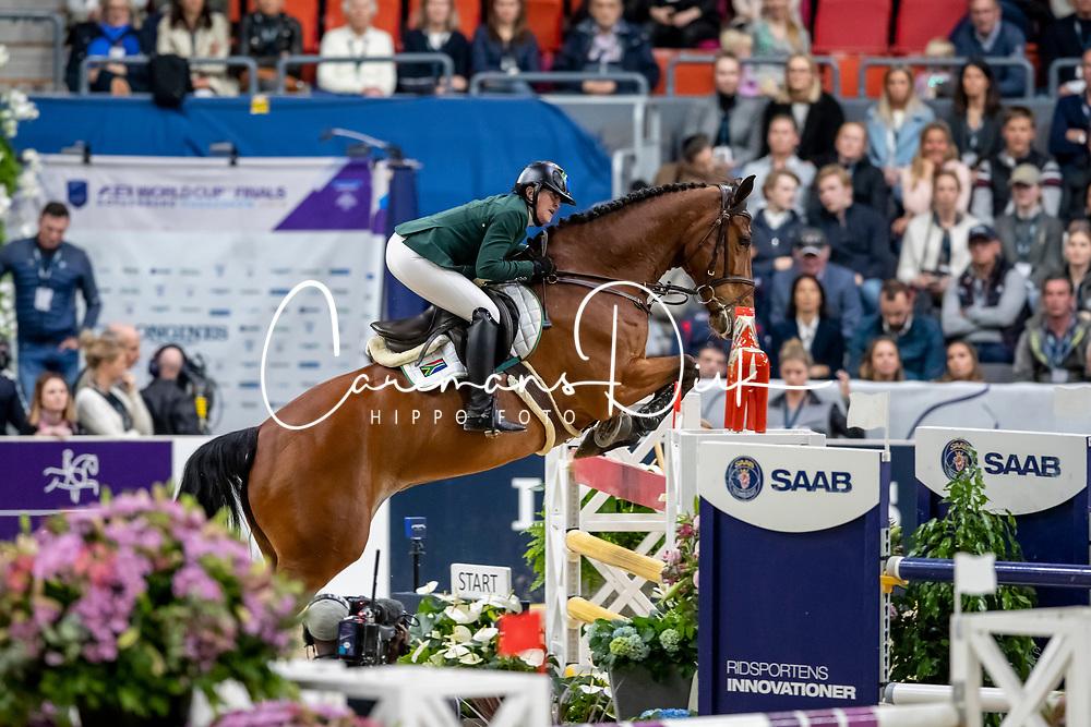 Williams Lisa, RSA, Campbell<br /> LONGINES FEI World Cup™ Finals Gothenburg 2019<br /> © Hippo Foto - Stefan Lafrentz<br /> 04/04/2019