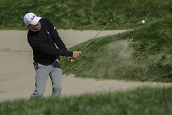 October 21, 2017 - Seogwipo, Jeju Island, South Korea - Lucas Glover of USA putt action on the 10th bunker during an PGA TOUR CJ CUP NINE BRIDGE DAY 3 at Nine Bridge CC in Jeju Island, South Korea. (Credit Image: © Ryu Seung Il via ZUMA Wire)