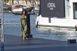 Noemie Lenoir attending the L Oreal Fashion Show in Paris, France on September 30, 2018. Photo by Julien Reynaud/APS-Medias/ABACAPRESS.COM