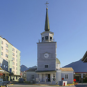St. Michael's Cathedral, built in 1848, Sitka, Alaska, USA