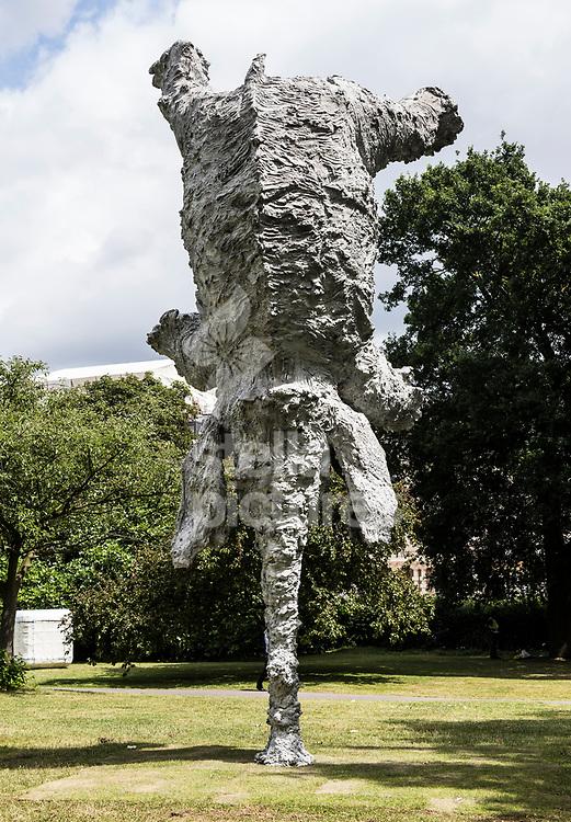 Miquel Barceló,<br /> Gran Elephandret (2008)<br /> Part of Frieze Sculpture at Regent's Park, Marylebone<br /> Picture by Daniel Hambury/Stella Pictures Ltd 07813022858<br /> 03/07/2017