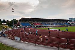 Stadium ZAK during athletics competition 8th Memorial of Matic Sustersic and Patrik Cvetan July 13, 2013 in Stadium ZAK, Ljubljana, Slovenia. Maribor defeated Zavrc 2-1. (Photo by Vid Ponikvar / Sportida.com)