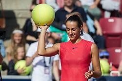 Caroline Garcia (France) at the 2017 WTA Ericsson Open in Båstad, Sweden, July 26, 2017. Photo Credit: Katja Boll/EVENTMEDIA.