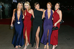 """Girls Aloud at the film premiere """"Love Actually""""  in Leicester Square, London.<br />©Claude Haller/allactiondigital.com"""