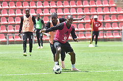 South Africa: Johannesburg: Orlando Pirates player Asavela Mbekile  during the a training session at the Rand Stadium in preparation for the much anticipating Soweto derby on the weekend, Gauteng.<br />Picture: Itumeleng English/African News Agency (ANA)
