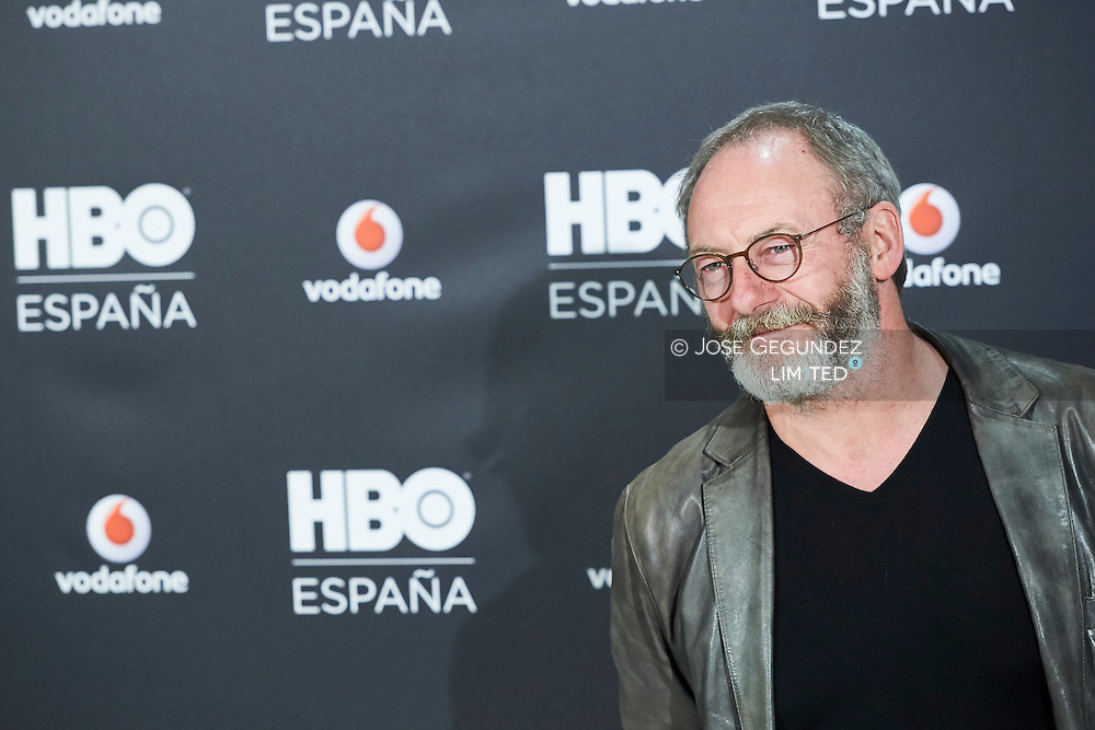 Liam Cunningham attended the Launch of HBO Spain photocell at URSO Hotel & Spa on December 15, 2016 in Madrid