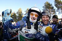 MOTORSPORT - WORLD RALLY CHAMPIONSHIP 2012 - RALLY SWEDEN / RALLYE DE SUEDE - 08 TO 12/02/2012 - KARLSTAD (SWE) - PHOTO : FRANCOIS BAUDIN /  DPPI - 03FORD WRT / LATVALA Jari-Matti -  SOLBERG Petter / FORD FIESTA - WRC Ambiance / Portrait