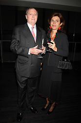 The Spanish Ambassador to the UK HE Mr DON CARLOS MIRANDA, COUNT OF CASA MIRANDA and his wife at a reception to celebrate the opening of the Dali & Film exhibition at the Tate Modern, London on 30th May 2007.<br /><br />NON EXCLUSIVE - WORLD RIGHTS