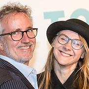 NLD/Amsterdam/20161005 - Filmpremiere Tonio, Janey van Ierland met partner