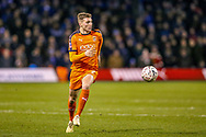 Luton Town defender Jack Stacey (7) during the The FA Cup 3rd round replay match between Luton Town and Sheffield Wednesday at Kenilworth Road, Luton, England on 15 January 2019.